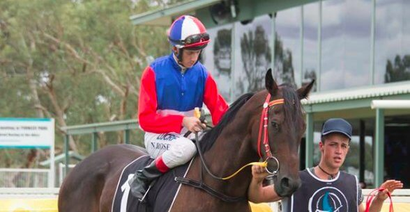 Finke with Tappy Rose